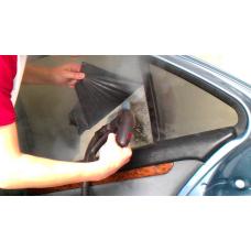 Растонирование бокового стекла